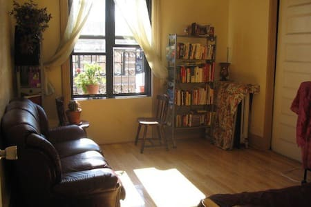 We love our large 3-bedroom apt and it's our joy to rent out two rooms to friendly travelers. Sip your morning coffee in Central Park or feast on the ethnic cuisines a short walk away. We recommend exploring Harlem's historic 125th Street. So close!