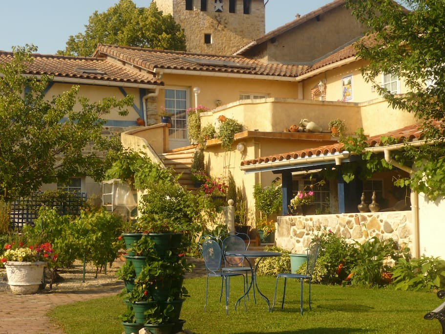 Chambre d 39 h te de charme an mone bed breakfasts for for Chambre de charme france