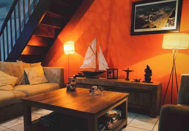Chambre indépendante à  Boucan canot