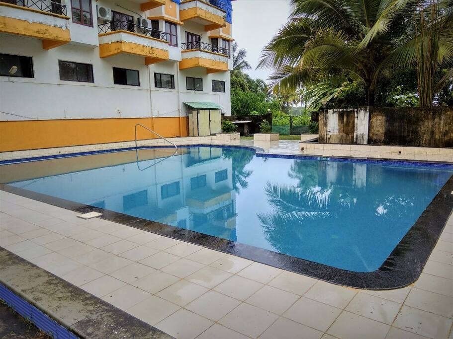 Entire House With Swimming Pool Near Beach Apartments For Rent In Benaulim Goa India
