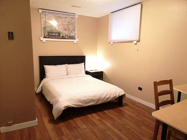 Private Room#1 close to UofA Downtown WhyteAVe