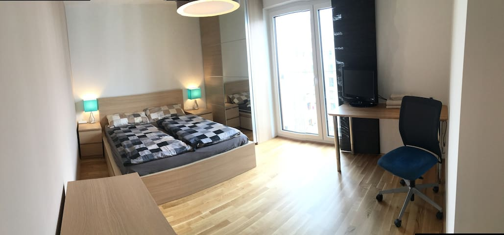 Modern room at the messe for two