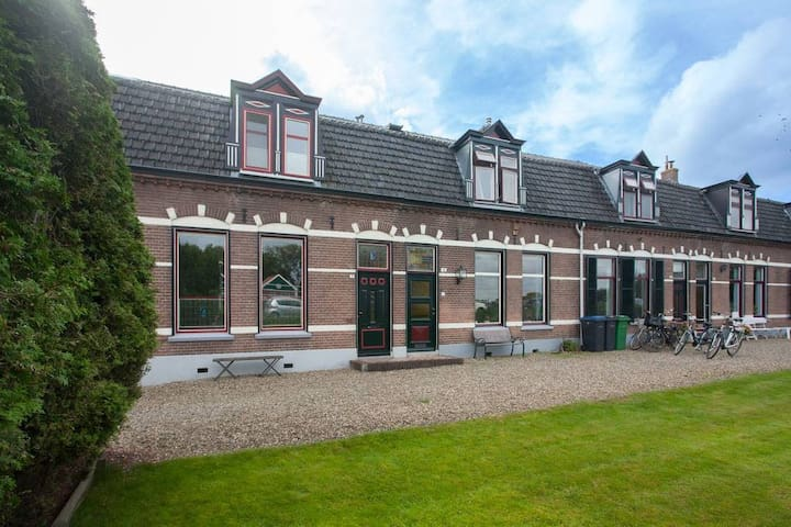 Luxury Riverside Family Home (close to Amsterdam)