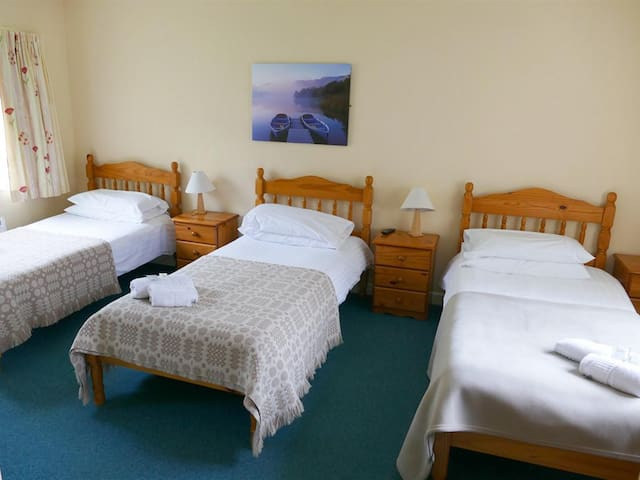Triple Room at Snowdonia Mountain Lodge