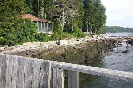 Waterfront Maine Cottage - Westport