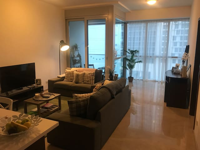 One Bedroom Apartment with pool and gym access.