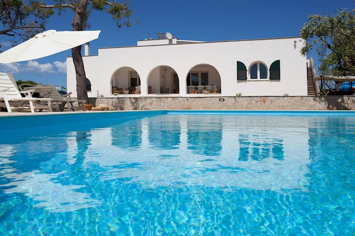 419 Villa with Pool and Tennis - Leuca - Ev