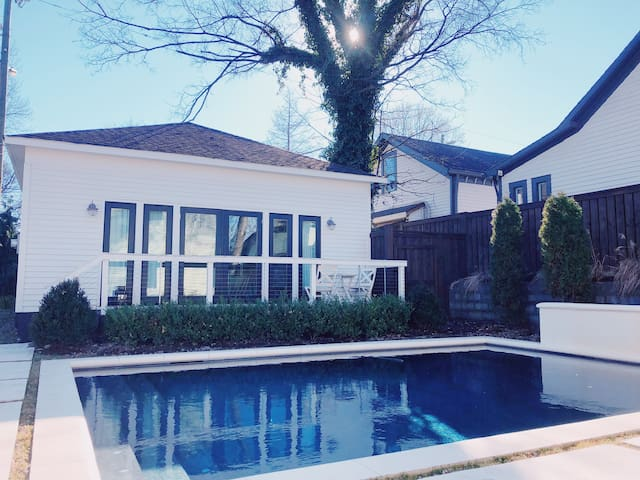 Dreamy Guest House w/ Pool in HEART of Five Points