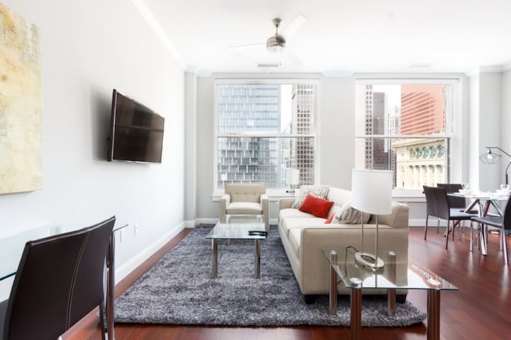Bright & Private 1BR | Work From Home | NYC