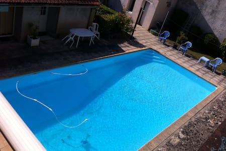 T2 standing vue piscine privative - Moulins