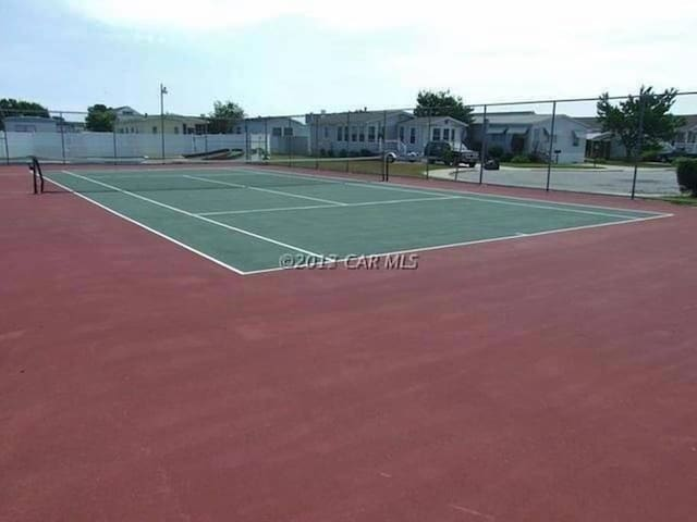 Two tennis courts to enjoy!