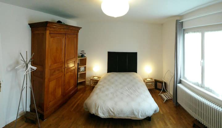 Gde chambre, calme, 5min de Colmar