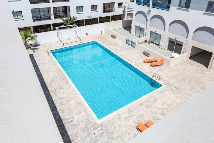 Large Studio Apt with Pool | Ayia Napa Centre 217
