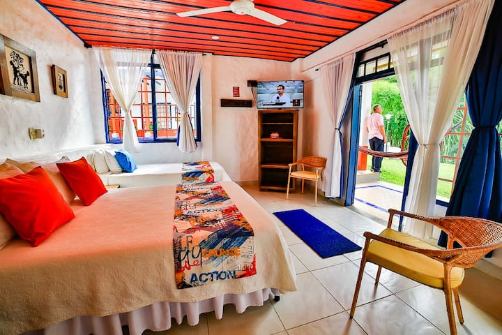 Finca Hotel mi Mónaco - Habitación TRIPLE
