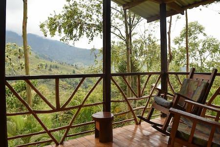⛰️ Cabina de Chirripo - Breathtaking Views! 🌄