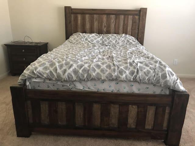 Cozy Master bedroom in Denton, TX