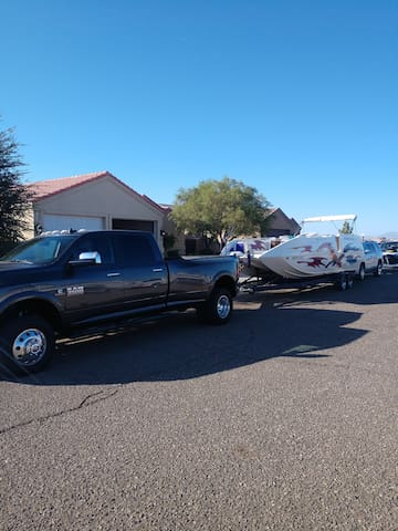 Plenty of Parking with 3 Car Driveway and Curbside for all the toys!