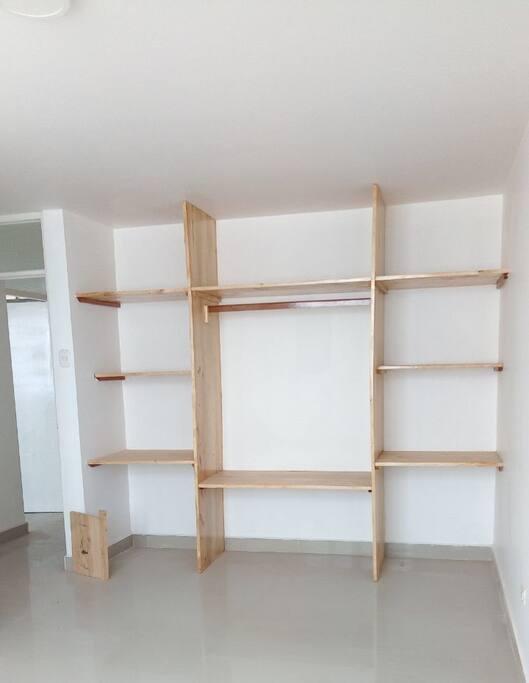 Closet en dormitorios