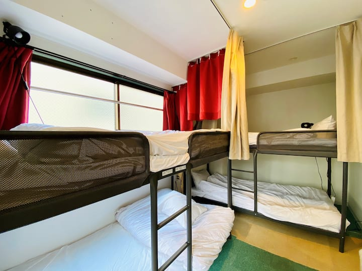 ASAKUSA 5mins/Private room for 4/Newly built/
