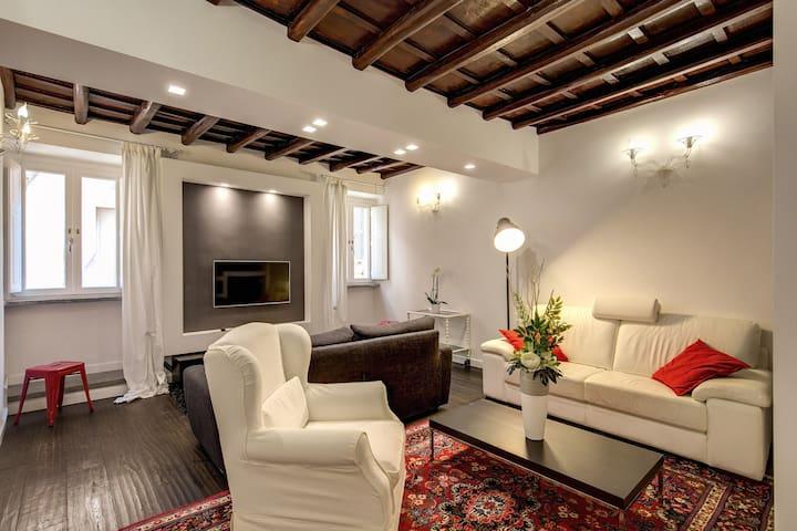 Campo de' Fiori Stylish White - Rome - Appartement