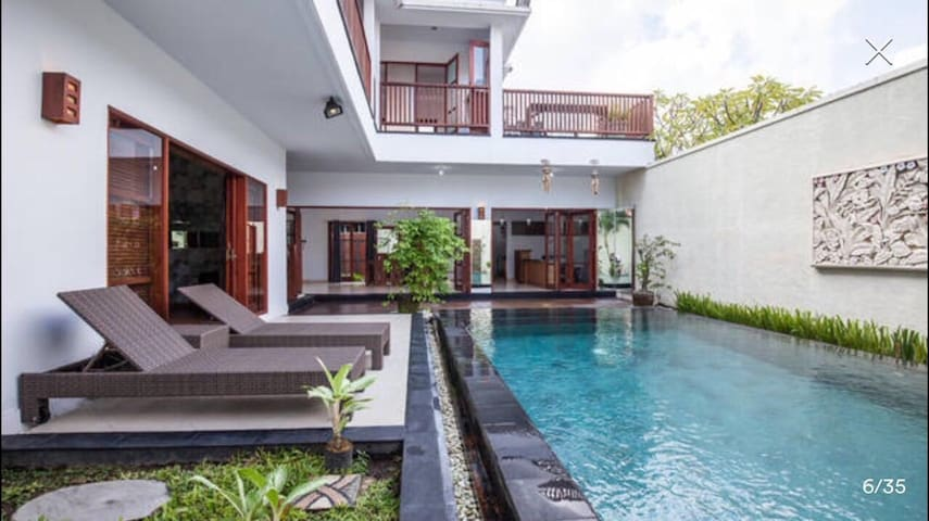 Luxury private 2+1BR villa Seminyak - Kuta - Dům