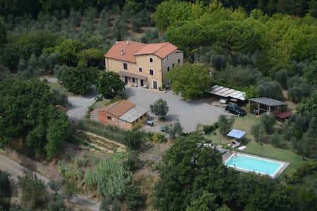 Farm on the Hill with Pool PAPAVERO - Terricciola - Lakás