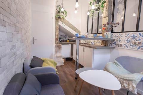 Petit Loft d'architecte Cosy au Coeur de Paris