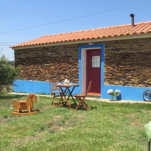 Rustic house in Alentejo coast  - Catifarras - Huis