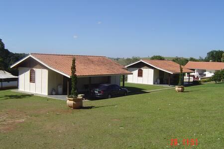 Casa de campo em local muito agradável e tranquilo