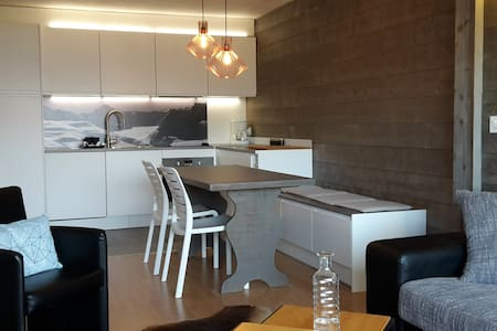 renovated apartment in the station - Nendaz - Apartment