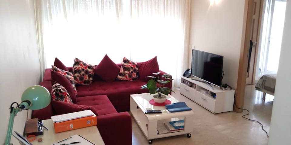 Cosy and modern flat in the heart of Casablanca/4P