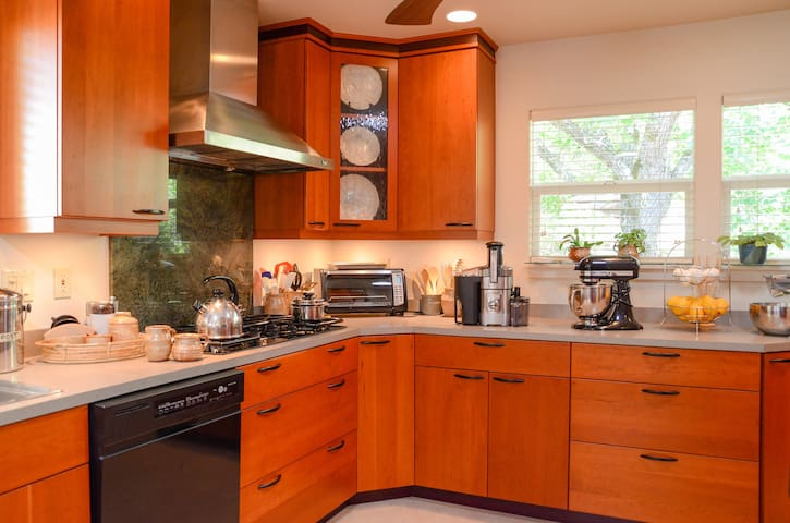Spacious and well equipped kitchen from which will come an appetizing breakfast to your liking.