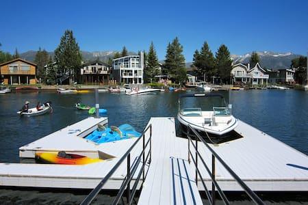 TAHOE-DOCK-HOT TUB-POOL TABLE-WIFI - South Lake Tahoe - Rumah