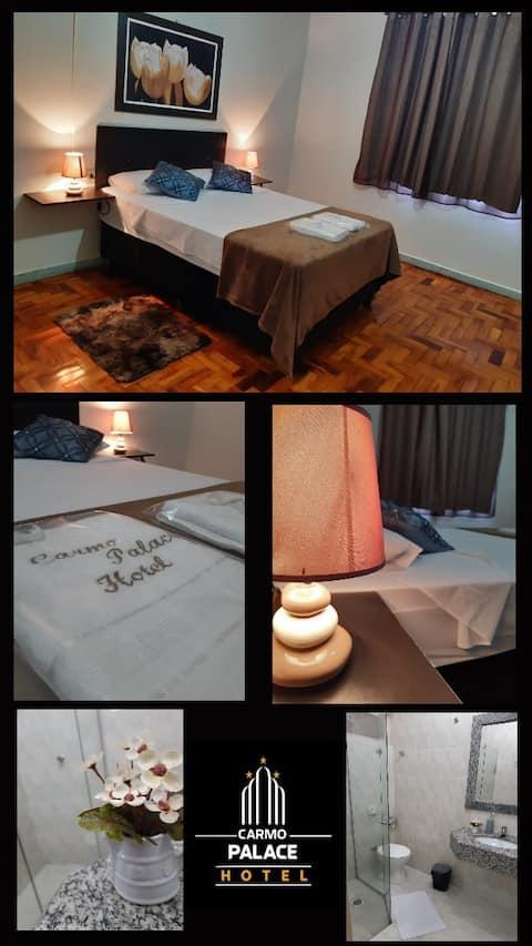 Hotel Carmo Palace, o melhor preço com qualidade.