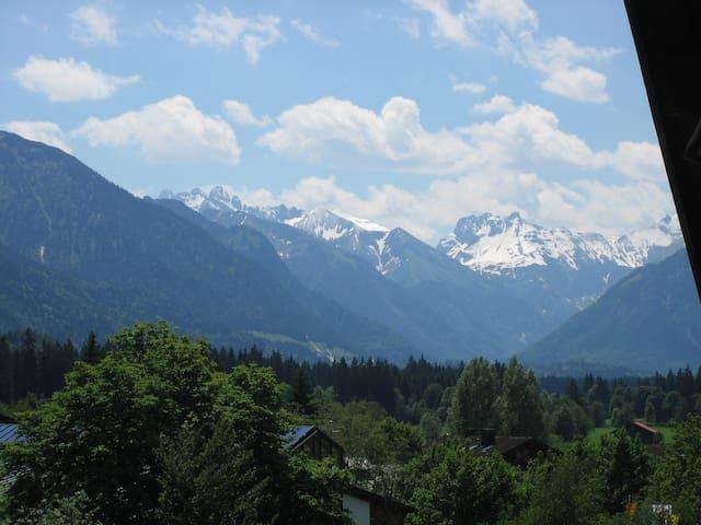 """Rubihornblick"" , Balkon, Parkhaus - Fischen"