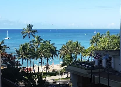 Seashore Studio - Beach View! - Honolulu - Apartment