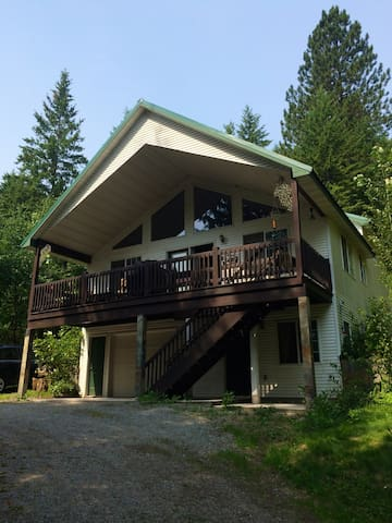 STUDIO APARTMENT, NEW HOT TUB, 9 MIN TO MOUNTAIN! - Sandpoint