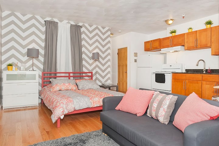 224 Tremont St. · Downtown Studio Apt, Perfect for Medical Workers