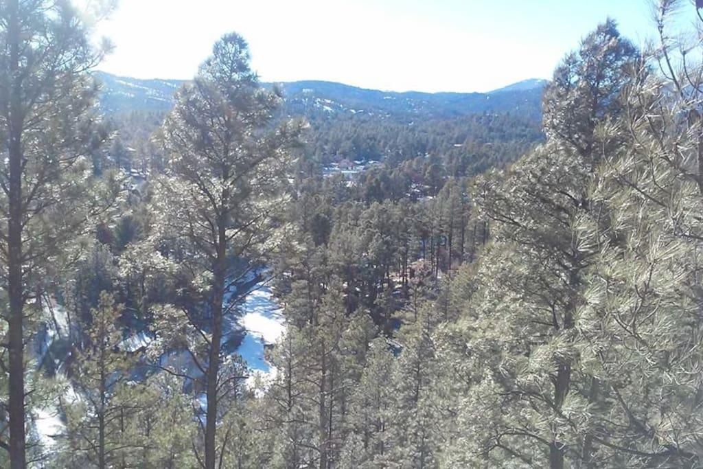 Sierra Blanca Mountain views from full sized balcony!