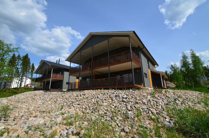 Villa Hallan Karhu - Hyrynsalmi - Hus