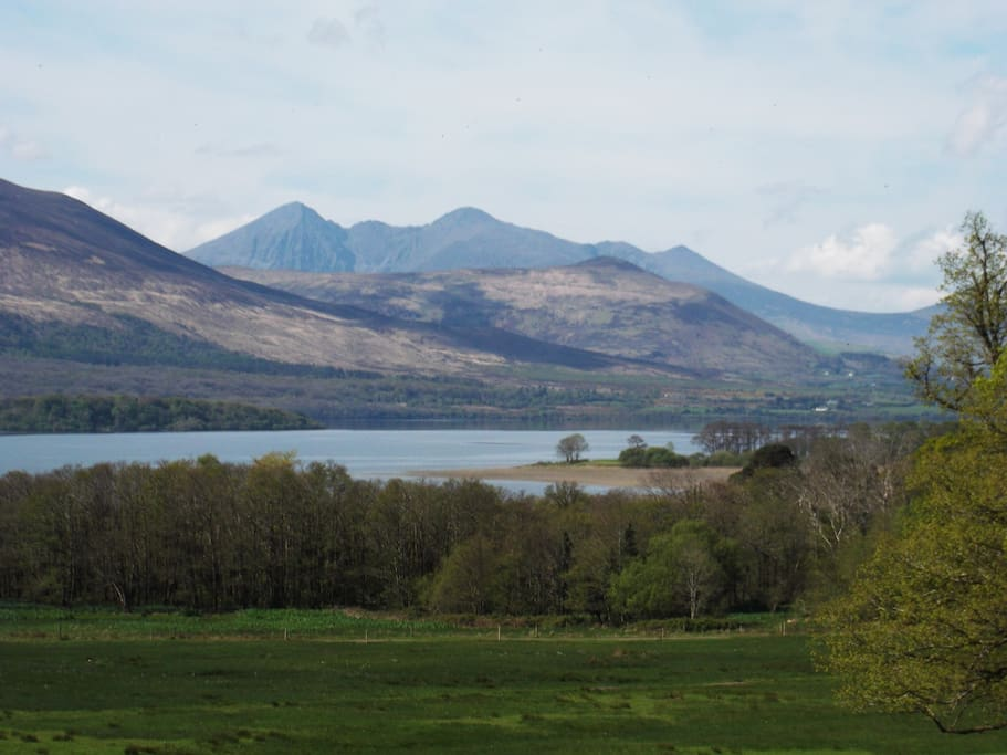 mountains and lakes of Killarney