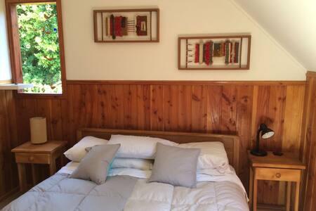 Cozy and comfortable bedroom. WIFI - Pucón - Casa