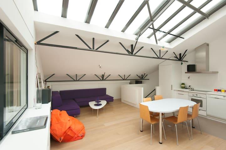 3 BR Loft, quiet clear and design - Paris - Loft