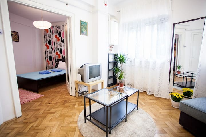 Chic Artistic Central Double Studio - Bucharest