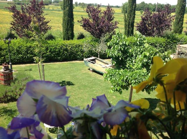 nestled in the rolling countryside  - Castiglione Del Lago - Bed & Breakfast