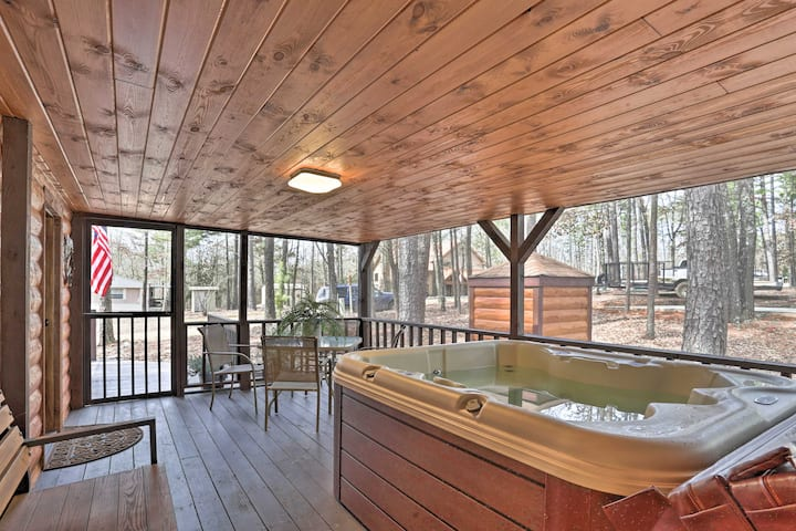 Broken Bow Sanctuary W Hot Tub Deck 7 Mi To Lake Cabins For Rent In Broken Bow Oklahoma United States
