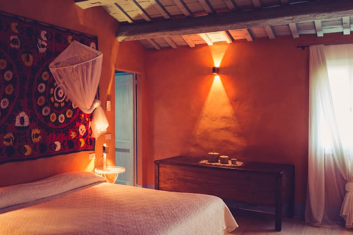 B&B Locanda della Luna, Double Room - Longiano - Bed & Breakfast