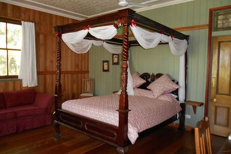 Luxury B&B suite in the rainforest - Mt Glorious - Aamiaismajoitus
