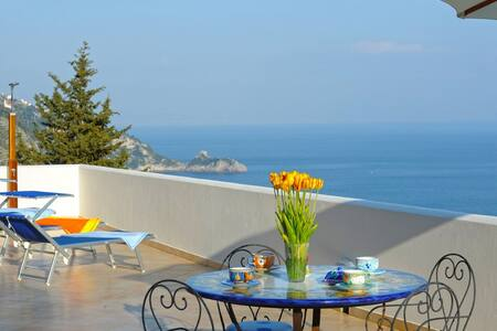 Panoramic house with big terrace - A652 - Praiano
