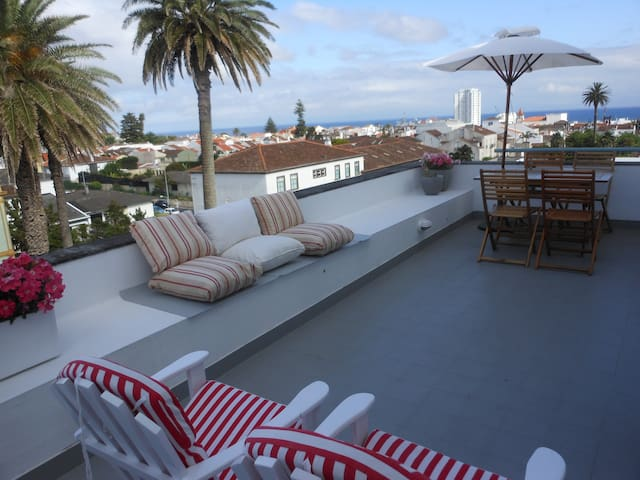Rooftop apartment - Ponta Delgada